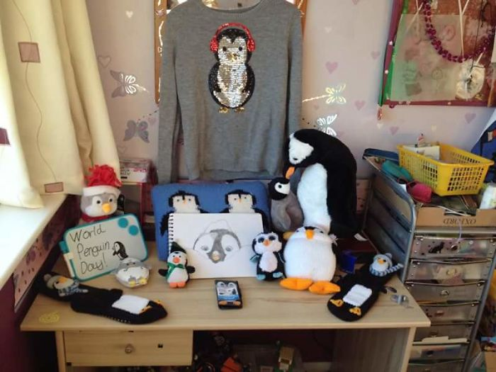 I Collect Penguins! This Is Only A Small Part Of My Collection.