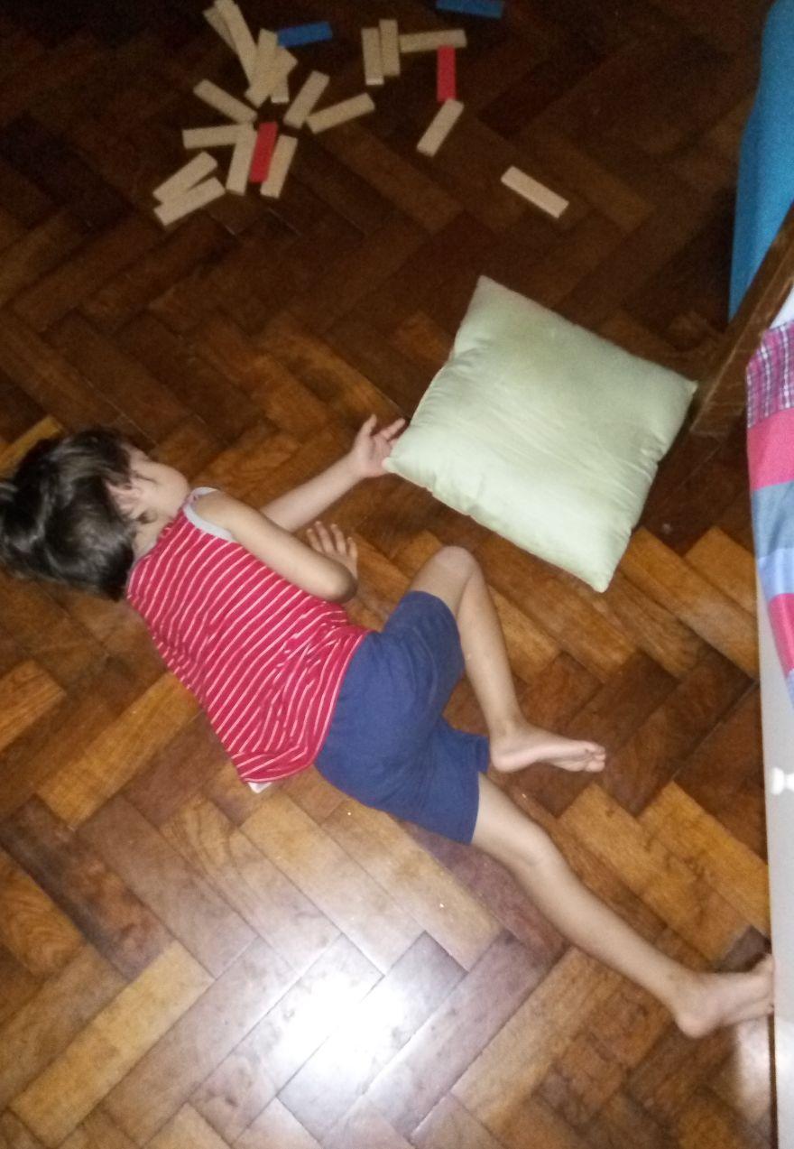 Sleeping Beauty On The Floor Bored Panda