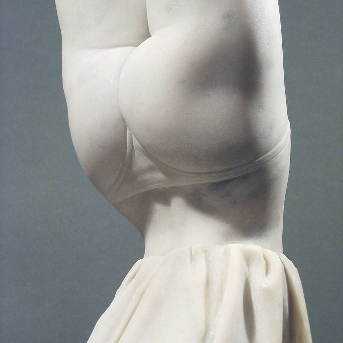 Gerard Mas's Subtly Twisted And Super Fun Marble Sculptures