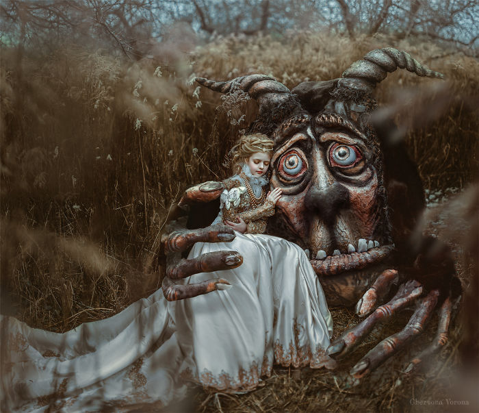 I Created This Monster And Photographed The Tale Of Beauty And The Beast