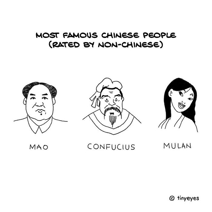 I Made These Comics To Compare Chinese Culture With Western Culture Through Everyday Life