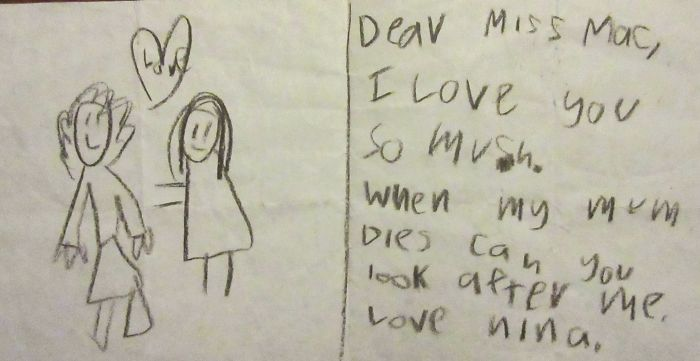 From A Girl In My Class!! (Her Mother Is Lovely!!)