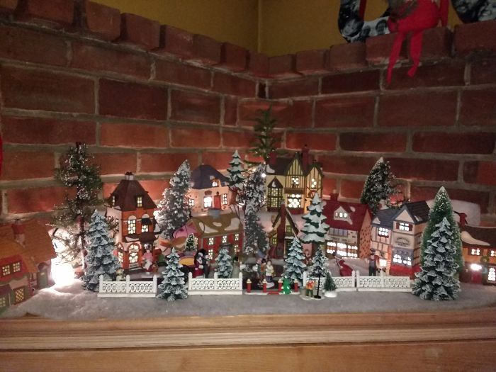 I Collect Winter Village Scenes