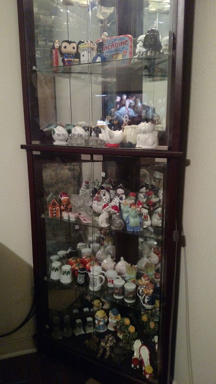 My Salt And Pepper Collection. This Is Mostly From Friends And Family Over The Last 18 Years.