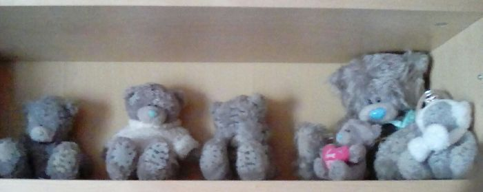 I Love Collecting Tatty Teddy's Again This Is A Small Part Of My Collection