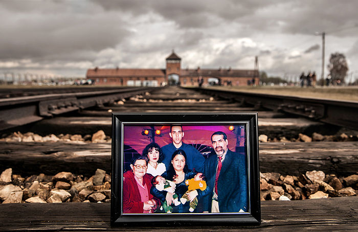 I Placed Photographs Of My Family Throughout Auschwitz, To Document The Life Of Generations Of Survivors