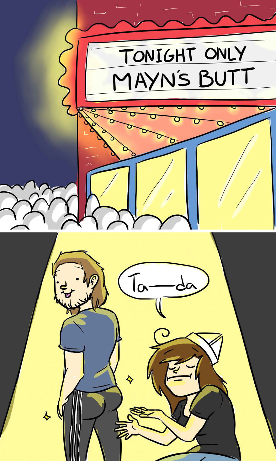 In Your Face Cake Comics - Oc