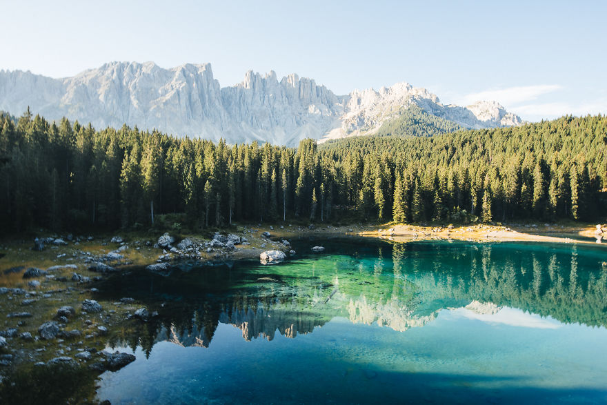 Lago Di Carezza, South Tyrol, Italy