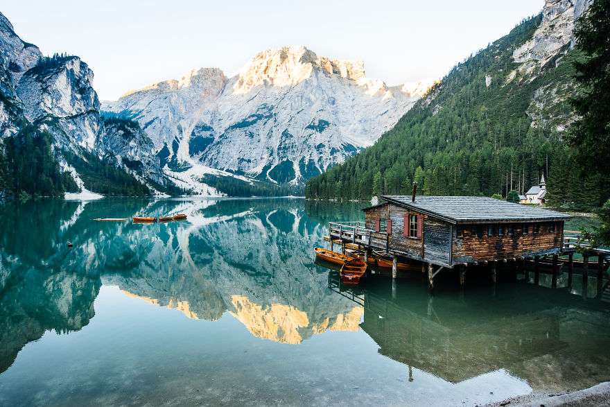 Lago Di Braies, South Tyrol, Italy