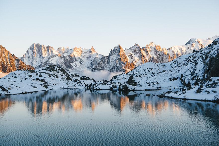 Lac Blanc, Haute-Savoie, France
