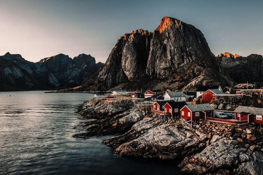 Northen Lights And Fjords