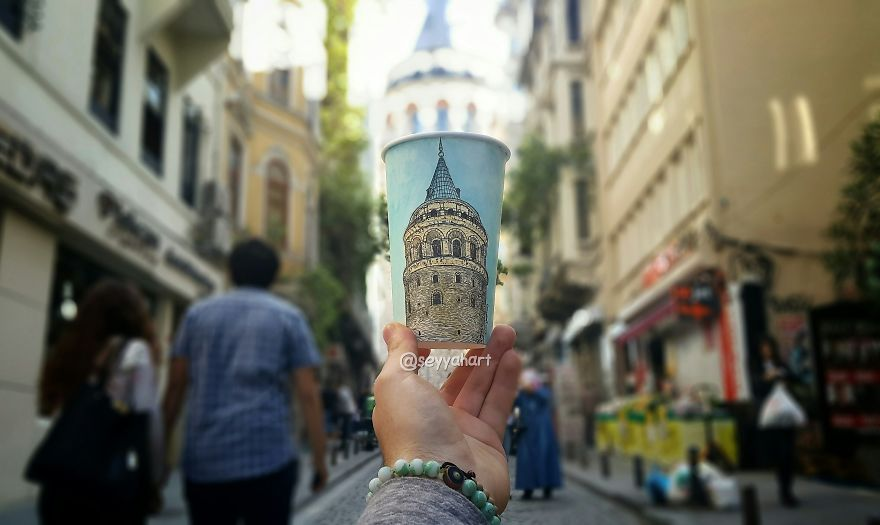Galata Tower, The Main Landmark Of Istanbul