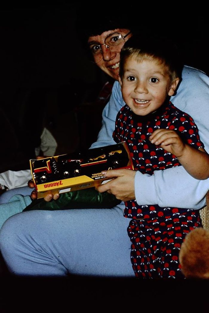 I Got A Brand New Toy Truck! Christmas 1988