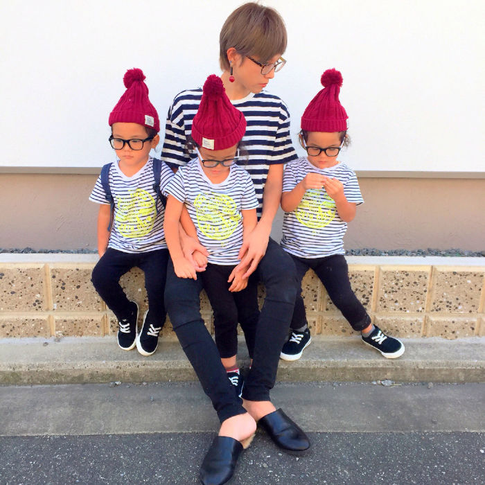 Mom's Instagram Account Featuring Her Twins And Triplets Is So Cute It Hurts