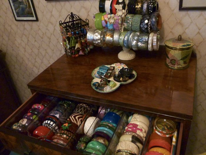 I Have A Serious Bangle Addiction. This Is Not All Of Them.