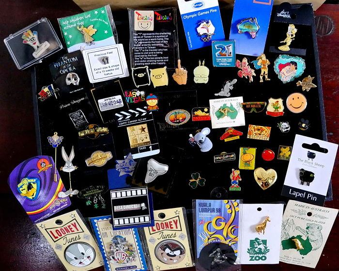 I Collect Pins From All Over… Whenever I Travel !