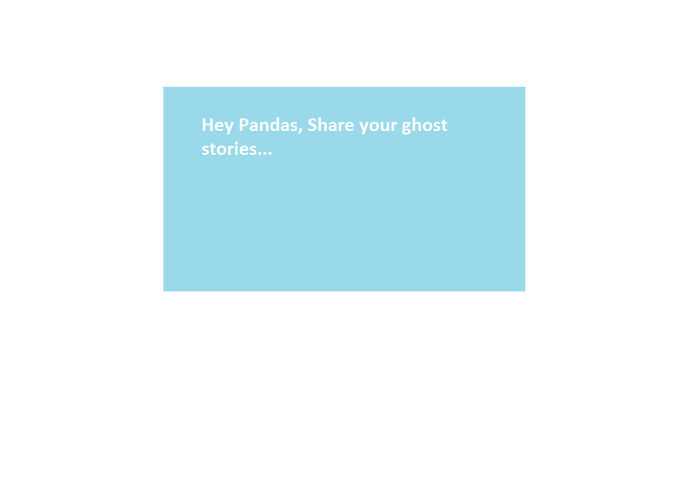 Believe Ghosts Are Real? Prove It. Post Your Story
