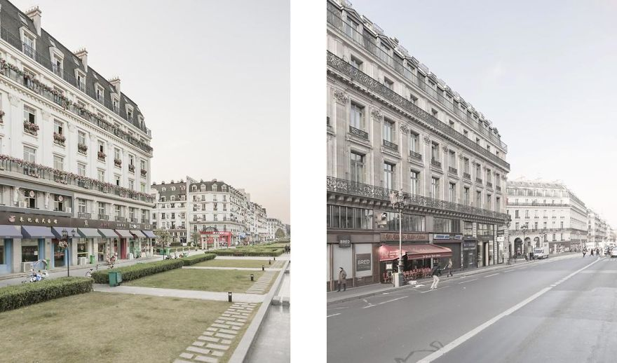 Paris Syndrome: The Project That Compares The Real Paris With Its Replica In China