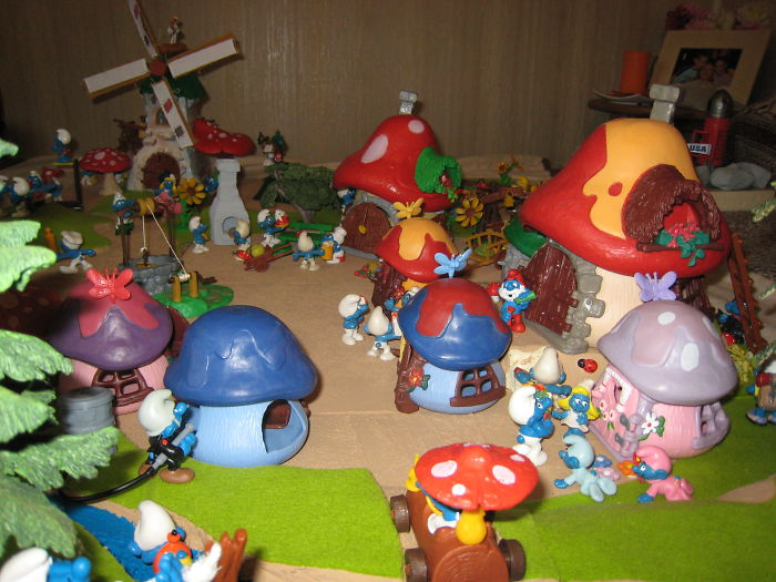 I Used To Collect Smurfs And Even Created A Village... I Was Not A Child Anymore!