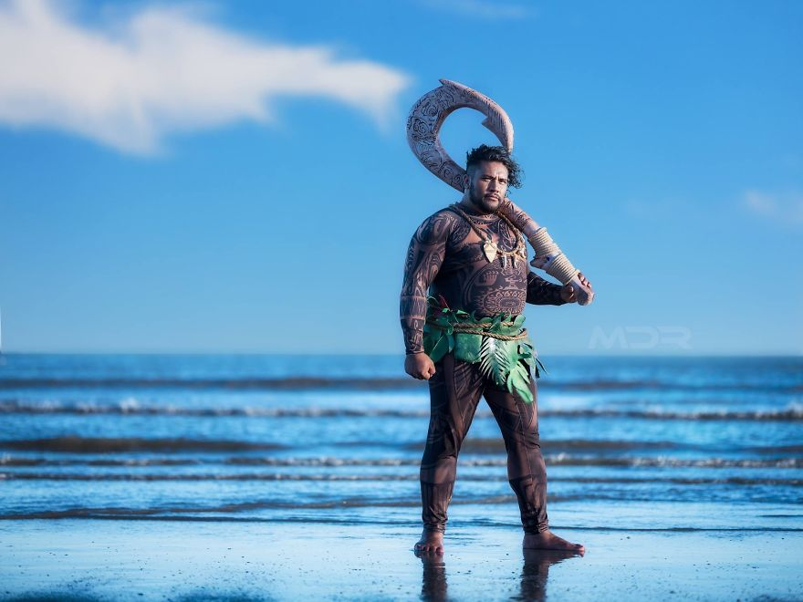 I Cosplayed As Maui From Moana And This Is How I Created The Costume