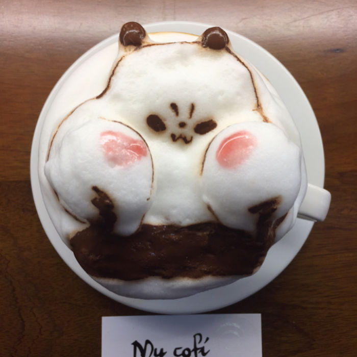 This Guy Creates Amazing 3d Arts In Coffee, Some Will Make You Think Twice Before Drinking