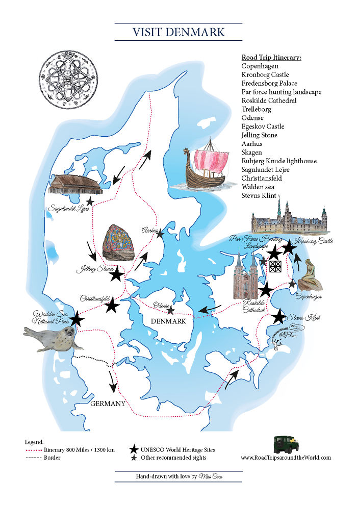 I Love Maps And The Latest One I Designed Will Help You Discover Denmark