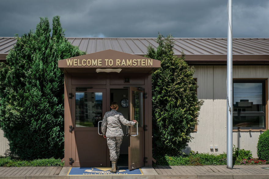 I Visited The Largest US Air Force Base In Europe