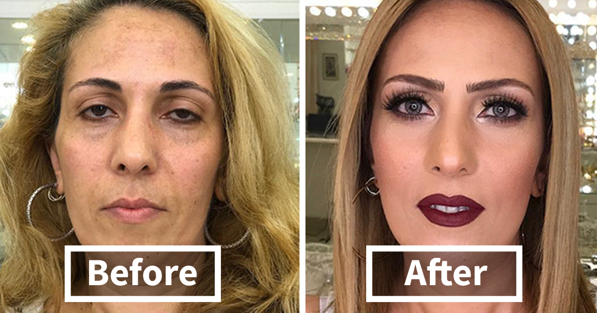 Make Up Artist Makes Clients As Old As 80 Look Decades Younger