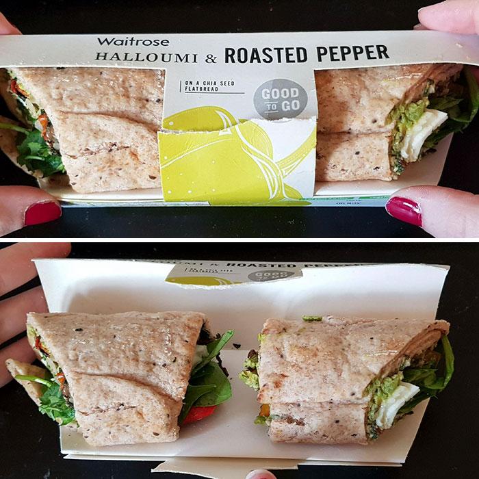 El Paquete De Sandwich Engañoso