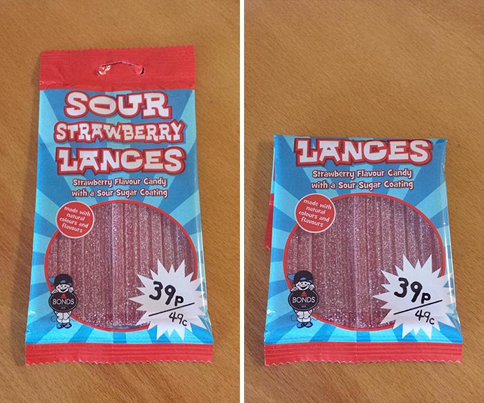 """Misleading Packaging Bullsh*t. Package: 19cm, """"Lances"""" 10cm"""