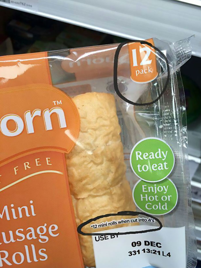 There Are Only 3 Veggie Sausage Rolls In This Pack