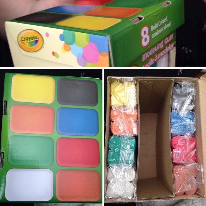 Crayola Deceiving Packaging