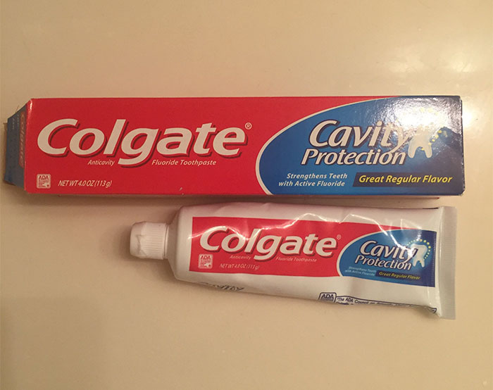 Thought I Was Buying A Long Tube Of Toothpaste