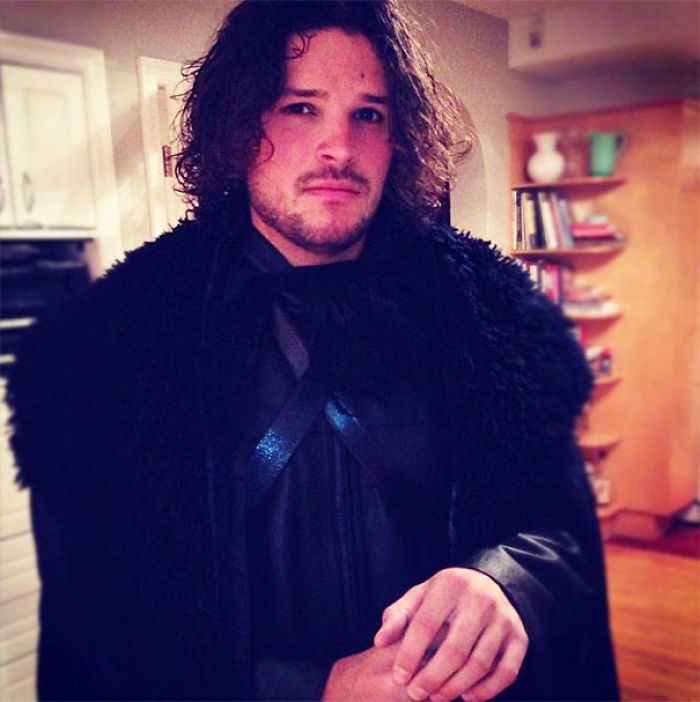 Jon Snow, Is That You? My Buddy Nailed It