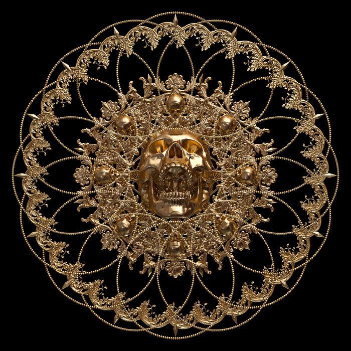 I Reimagined Traditional Mandala & Geometric Patterns As 3d Illustrations