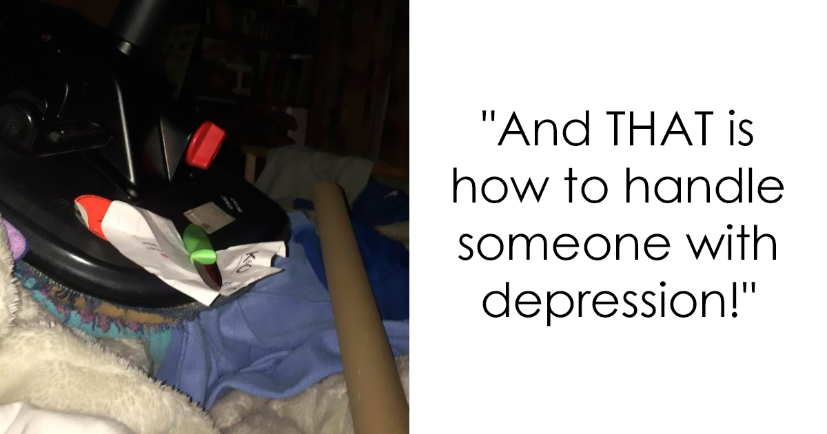 Woman Shares How Her Boyfriend Is Handling Her Crippling Depression, And It's Absolutely Amazing