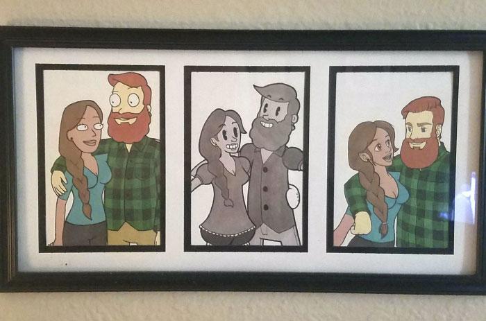 boyfriend-drew-girlfriend-different-cartoon-styles-kellssketchess-11