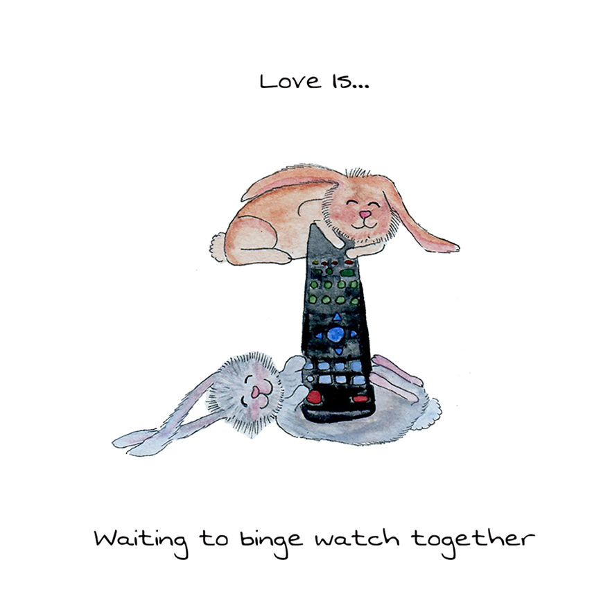 Love Is Waiting To Binge Watch Together