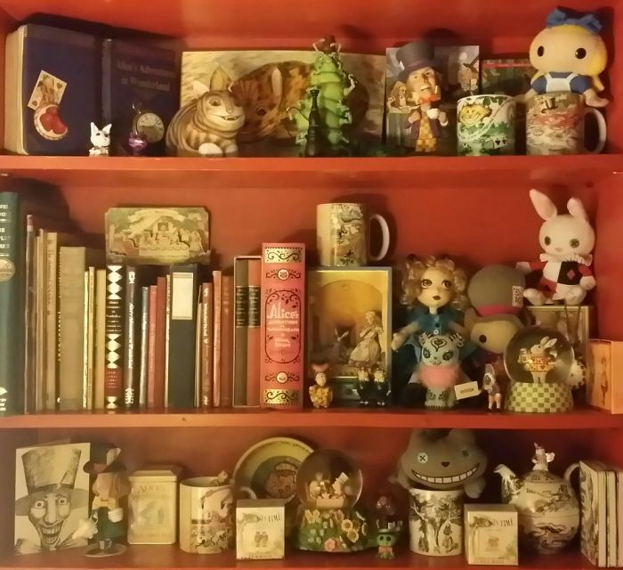 I Collect Alice In Wonderland (Non-Disney) Items. Most Are One Of A Kind. None Bought Online