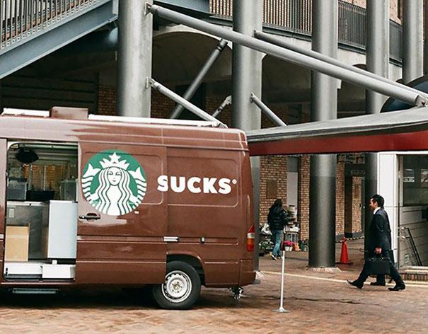 Way To Think It Through Starbucks!