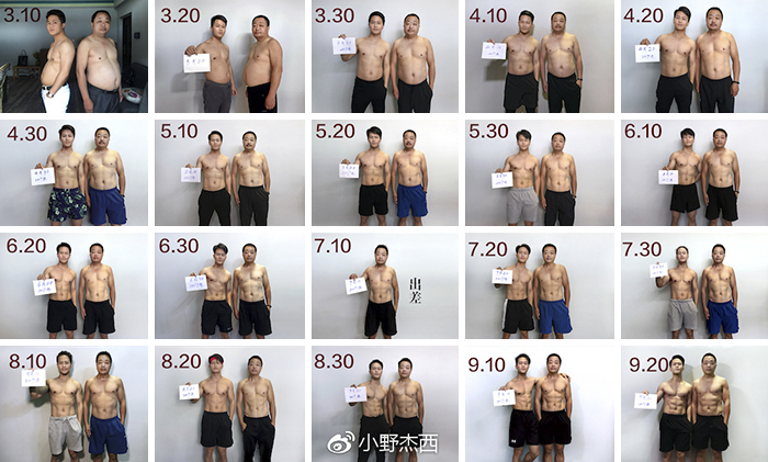 Chinese Family Spends 6 Months Running Out, And Here Are Their Before-And-After Pics