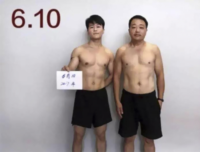 Chinese Family Spends 6 Months Working Out, And Here Are ...