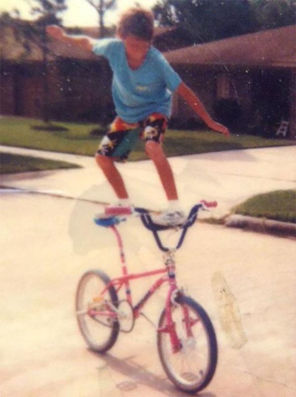 Me And My Pink Bike, 1986