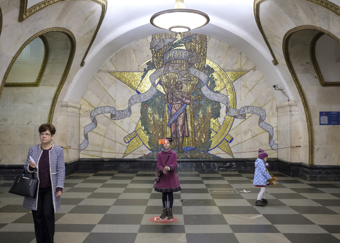 Lenin Palace: I Visited One Of The Most Beautiful Metro Systems In The World