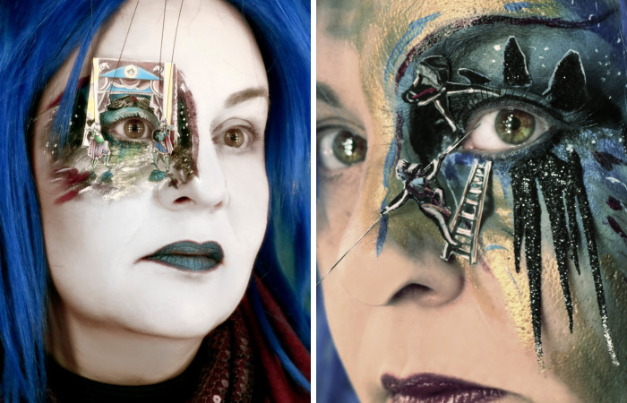 When Makeup Becomes A True Art Form, The Eyes Are Turned Into Performance Spaces
