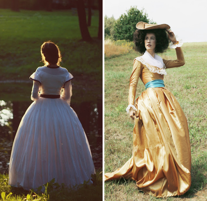 This Girl Makes Her Own Costumes And Proves Time Travel Is Real