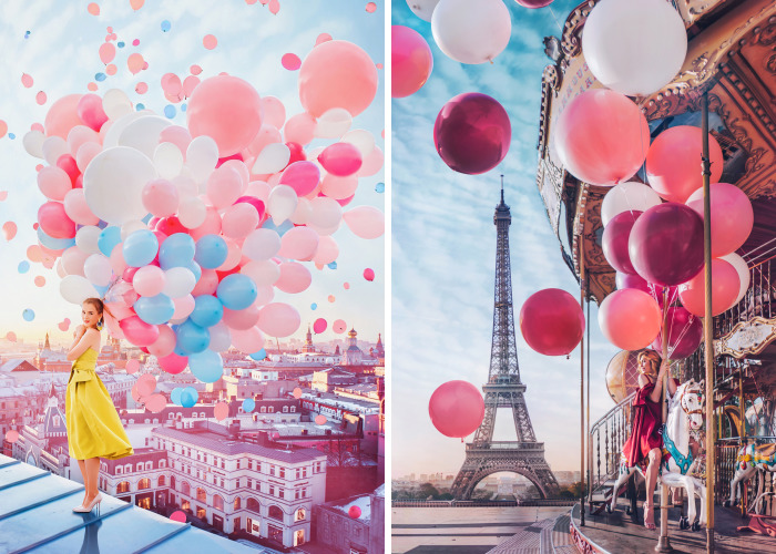 I Find Inspiration For My Pics In Balloons, Lanterns, And Bubbles