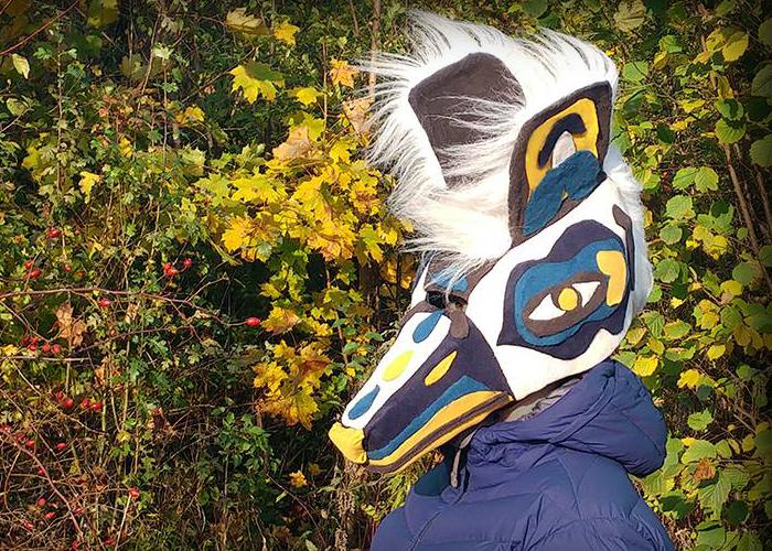 """Baba Yaga's Masks"" Artist Creating Awesome Textile Masks For Everyone"