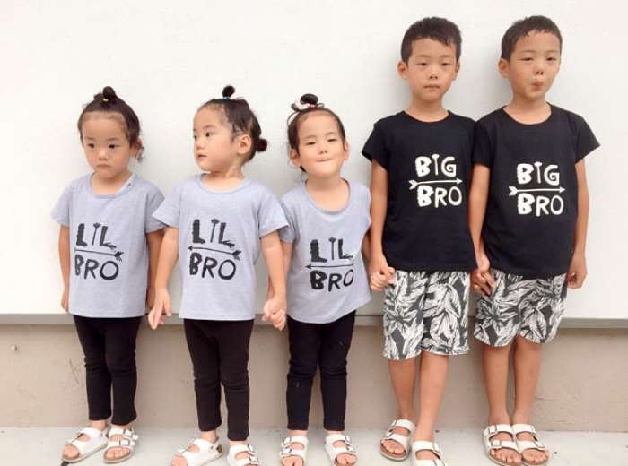 Japanese Mom Captures Her Life With Her Twins And Triplets And It's Just Too Adorable