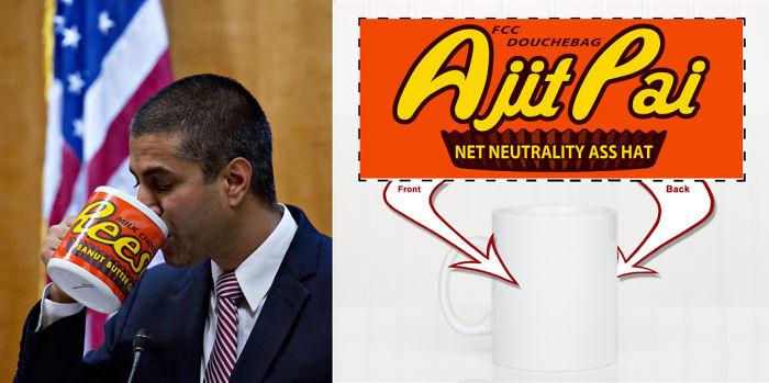 Ajit Pai Coffee Mug